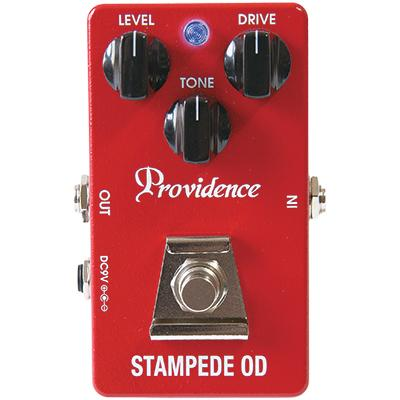 PROVIDENCE SOV-2 Stampede OD Pedals and FX Providence