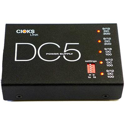CIOKS DC-5 Link Power Supply Pedals and FX Cioks