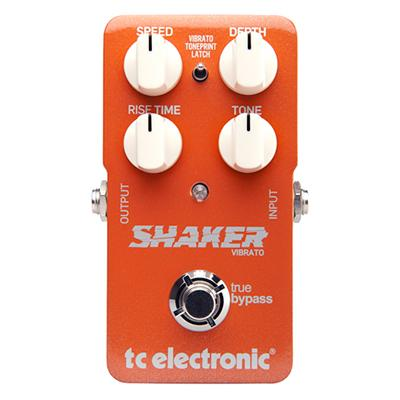 TC ELECTRONIC Shaker Vibrato Pedals and FX TC Electronic