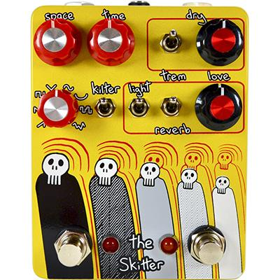 CHAMPION LECCY ELECTRONICS The Skitter - Yellow Pedals and FX Champion Leccy Electronics