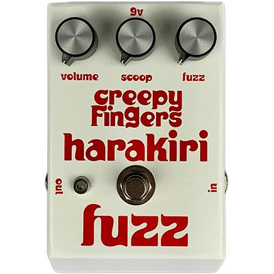 CREEPY FINGERS Harakirifuzz Pedals and FX Creepy Fingers