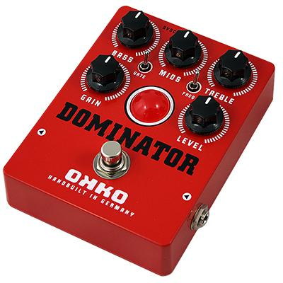 OKKO FX Dominator MKII - Red Pedals and FX Okko FX