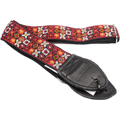 "SOULDIER STRAPS Vintage 2"" - Woodstock Red Accessories Souldier Straps"