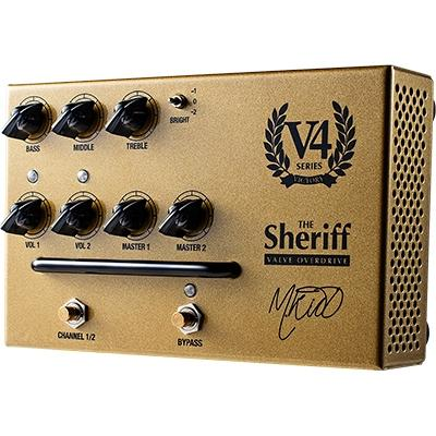 VICTORY AMPLIFICATION V4 The Sheriff Preamp Pedal Pedals and FX Victory Amplification