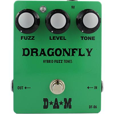 D*A*M Dragonfly DF-06 Pedals and FX D*A*M