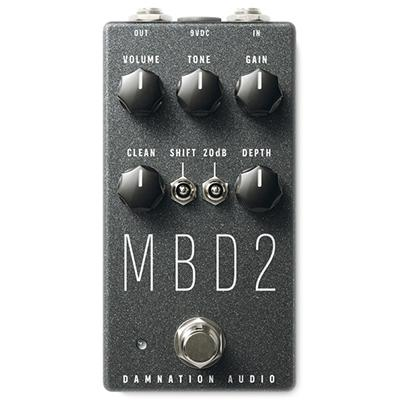 DAMNATION AUDIO MBD-2 Mosfet Bass Distortion Pedals and FX Damnation Audio
