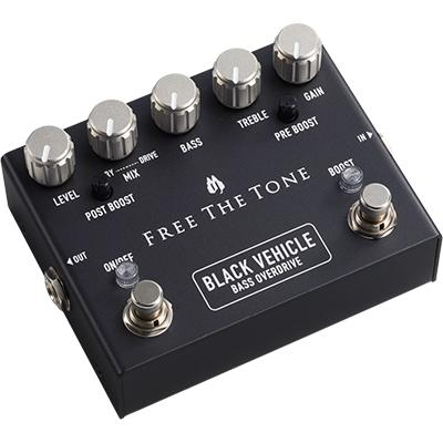 FREE THE TONE Black Vehicle Bass Overdrive