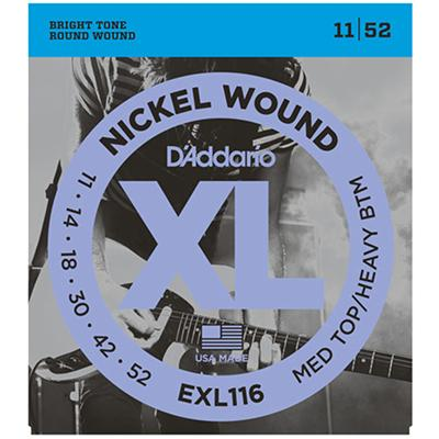 DADDARIO EXL116 MTSB 11-52 Strings