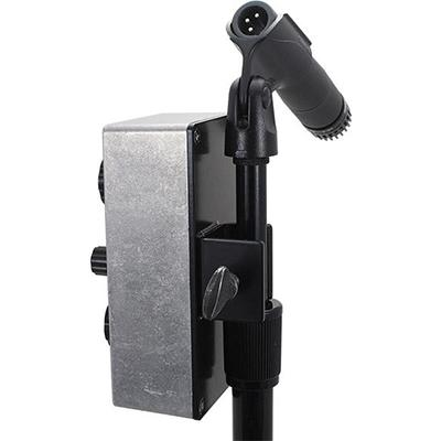 DEATH BY AUDIO Echo Master Mic Stand Clip Back Plate Pedals and FX Death By Audio