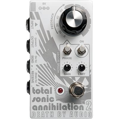 DEATH BY AUDIO Total Sonic Annihilation 2 Pedals and FX Death By Audio