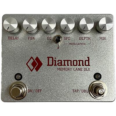 DIAMOND Memory Lane DLX Pedals and FX Diamond Pedals