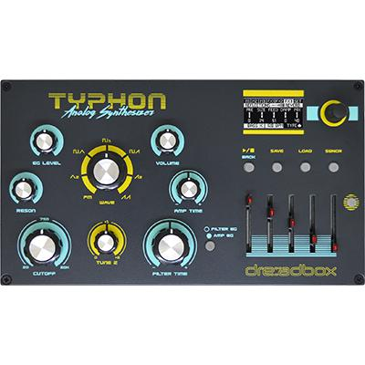 DREADBOX Typhon Synthesizer Pedals and FX Dreadbox
