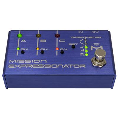 MISSION ENGINEERING Expressionator Pedals and FX Mission Engineering