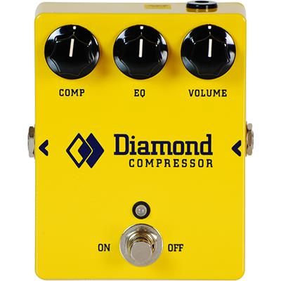 DIAMOND Compressor Pedals and FX Diamond Pedals