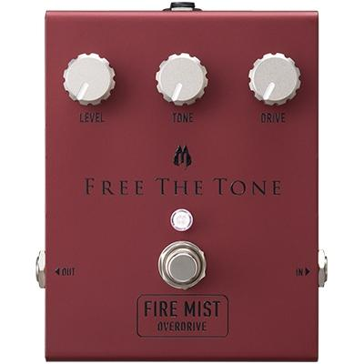 FREE THE TONE Fire Mist Overdrive Pedals and FX Free The Tone