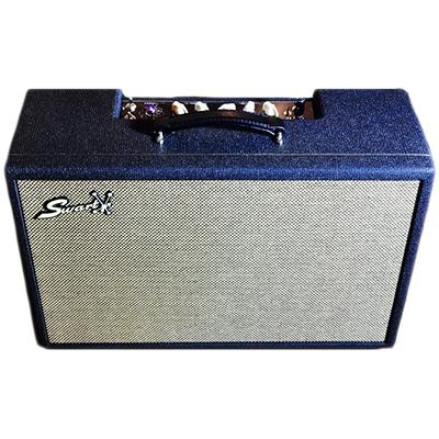 SWART AMPS Antares Black w/ Gold Piping - Creamback Amplifiers Swart Amps