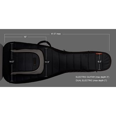 MONO Electric Guitar Case Black (In-Store Only) Accessories Mono Cases