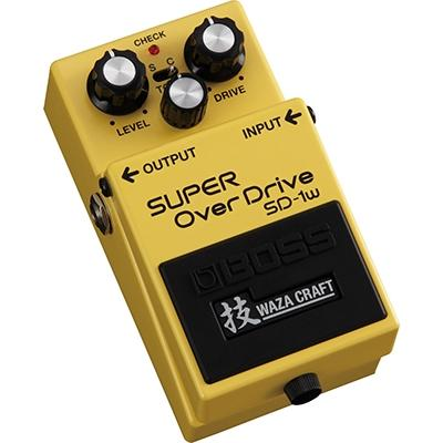 BOSS SD-1W Super OverDrive Waza Craft Pedals and FX Boss