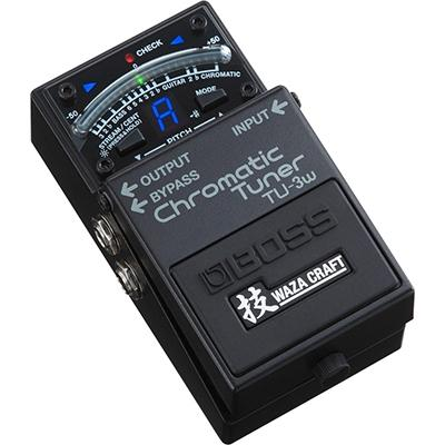 BOSS TU-3W Chromatic Tuner Waza Craft Pedals and FX Boss