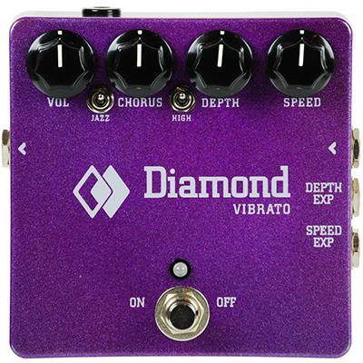 DIAMOND Vibrato Pedals and FX Diamond Pedals