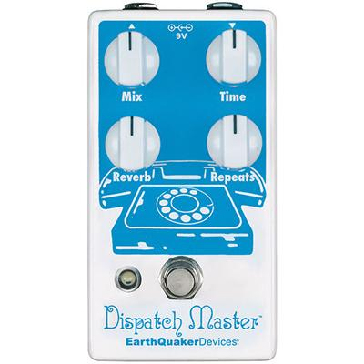 EARTHQUAKER DEVICES Dispatch Master V3 Pedals and FX Earthquaker Devices