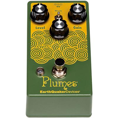EARTHQUAKER DEVICES Plumes Pedals and FX Earthquaker Devices