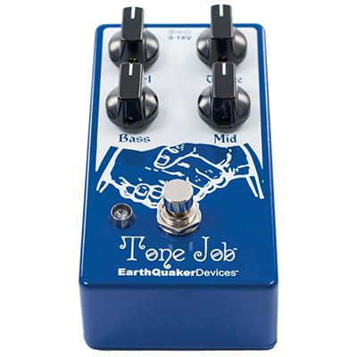 EARTHQUAKER DEVICES Tone Job EQ/Boost Pedals and FX Earthquaker Devices