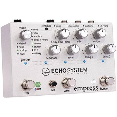 EMPRESS EFFECTS Echo System Pedals and FX Empress Effects