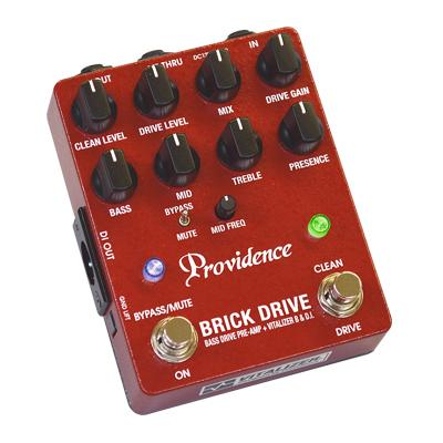PROVIDENCE BDI-1 Brick Drive Pedals and FX Providence