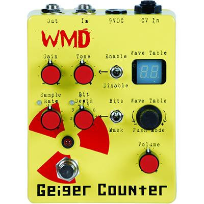 WMD Geiger Counter Pedals and FX WMD