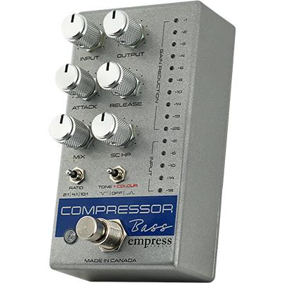 EMPRESS EFFECTS Compressor Bass Silver Pedals and FX Empress Effects