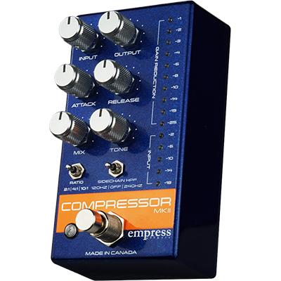 EMPRESS EFFECTS Compressor MKII Blue Pedals and FX Empress Effects