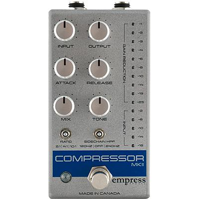 EMPRESS EFFECTS Compressor MKII Silver Pedals and FX Empress Effects