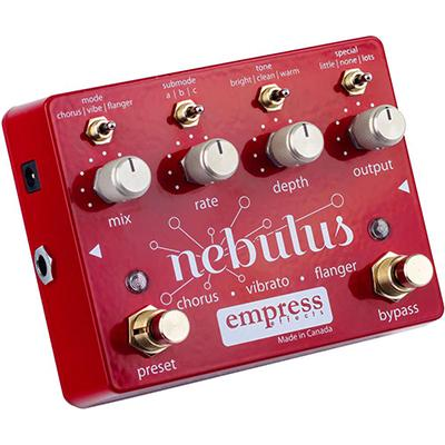 EMPRESS EFFECTS Nebulus Pedals and FX Empress Effects