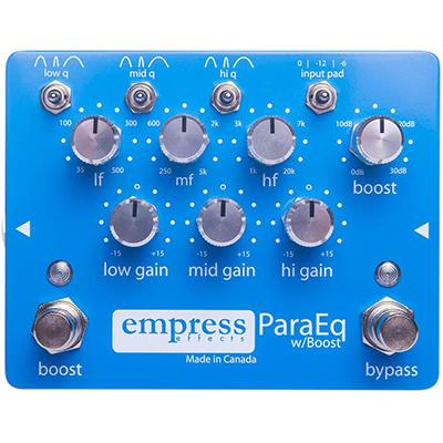 EMPRESS EFFECTS Para EQ Pedals and FX Empress Effects