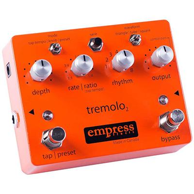 EMPRESS EFFECTS Tremolo 2 Pedals and FX Empress Effects