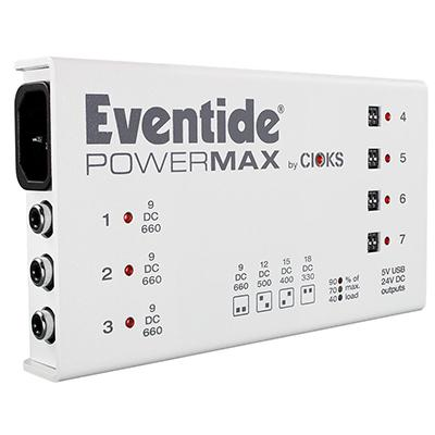 EVENTIDE PowerMax Pedals and FX Eventide