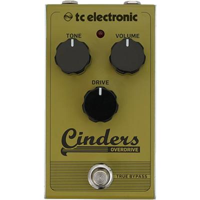 TC ELECTRONIC Cinders Overdrive Pedals and FX TC Electronic