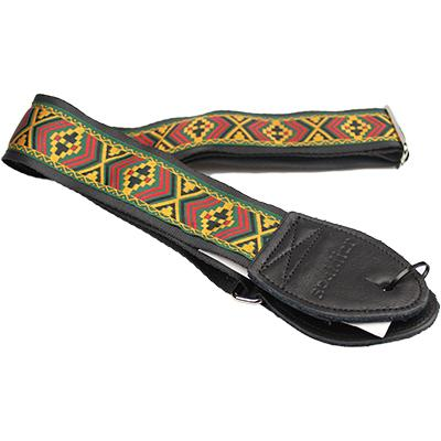 "SOULDIER STRAPS Vintage 1.5"" - Marley Yellow/Red/Black Accessories Souldier Straps"