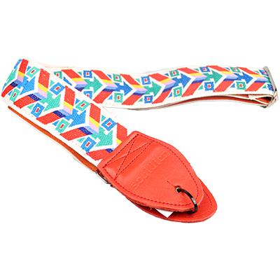 "SOULDIER STRAPS Vintage 2"" - Transformer White/Orange"