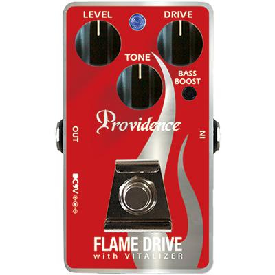 PROVIDENCE FDR-1F Flame Drive Pedals and FX Providence