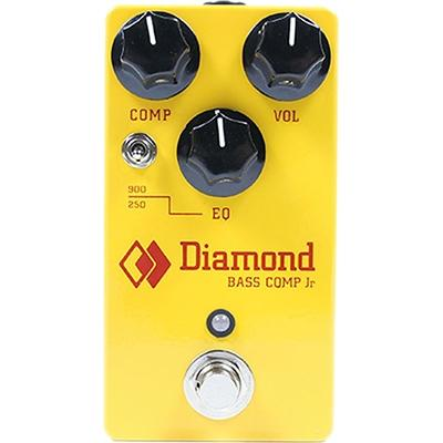 DIAMOND Bass Compressor Jr Pedals and FX Diamond Pedals