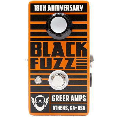 GREER AMPS Black Fuzz Pedals and FX Greer Amps