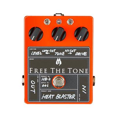 FREE THE TONE Heat Blaster HB-2 Pedals and FX Free The Tone