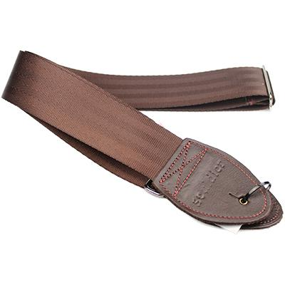 SOULDIER STRAPS Plain Seatbelt - Dark Brown Accessories Souldier Straps