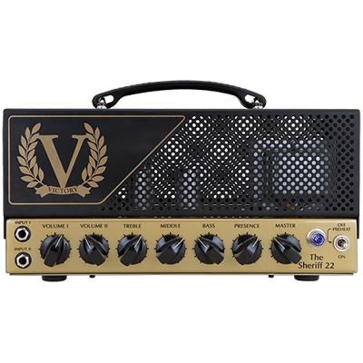 VICTORY AMPLIFICATION Sheriff 22 Head Amplifiers Victory Amplification
