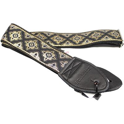 "SOULDIER STRAPS Vintage 2"" - Regal Black"