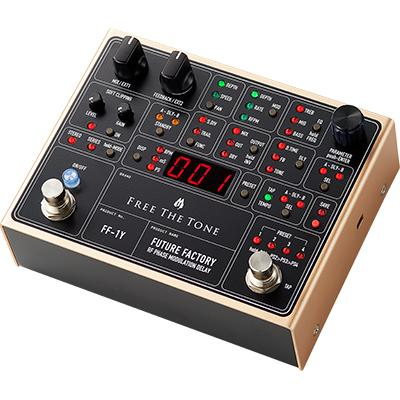 FREE THE TONE Future Factory FF-1Y Pedals and FX Free The Tone