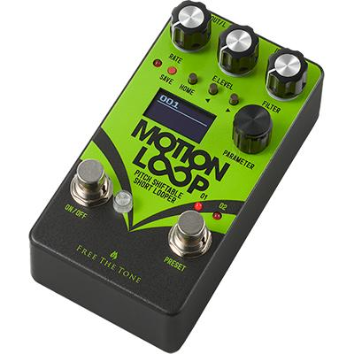 FREE THE TONE Motion Loop ML-1L Pedals and FX Free The Tone