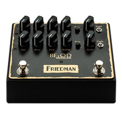 FRIEDMAN BE-OD Deluxe Pedal Pedals and FX Friedman Amplification